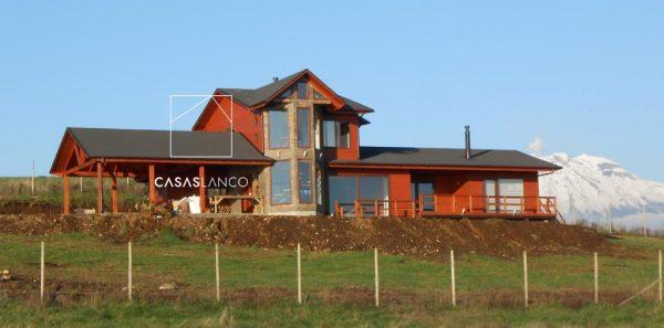Casa a pedido de 231,04 m2. Rio Pescado, Lago Llanquihue