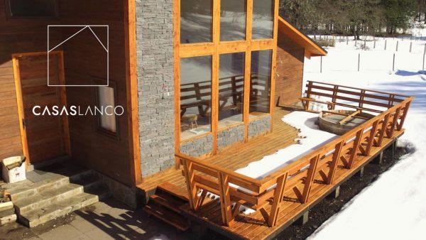 Casa a pedido de 252,89 m2. Malalcahuello, Corralco