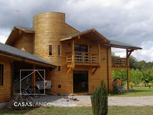 Casa a pedido de 276,33 m2. Villarrica. Correntoso
